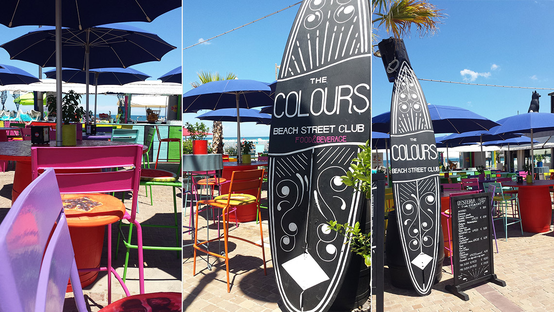 Beach Club The colours | Riccione (Rn)